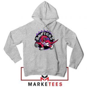 Raptors Heat NBA Sport Grey Hoodie