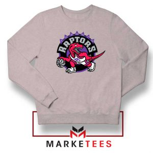 Raptors Heat NBA Sport Grey Sweater