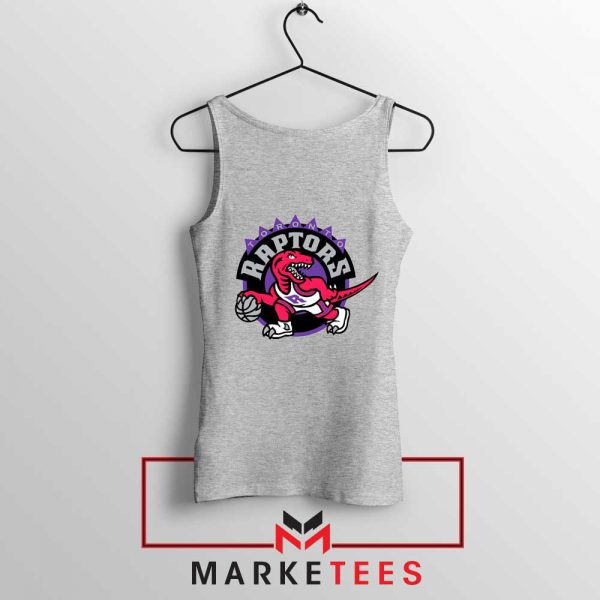 Raptors Heat NBA Sport Grey Tank Top
