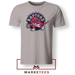 Raptors Heat NBA Sport Grey Tee Shirt