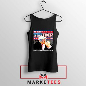 Reelect Donald Trump 2020 Black Tank Top