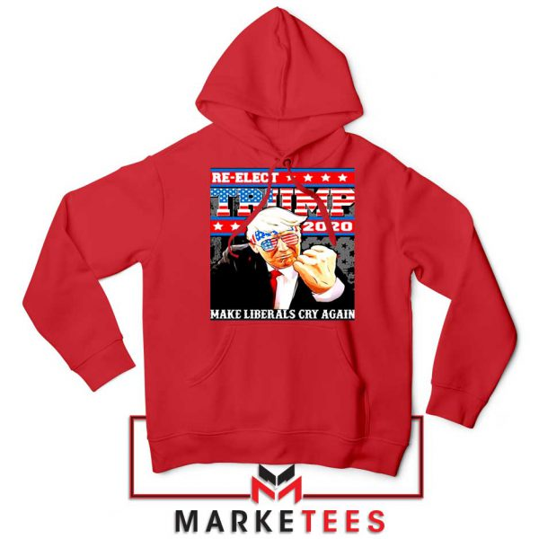 Reelect Donald Trump 2020 Red Hoodie