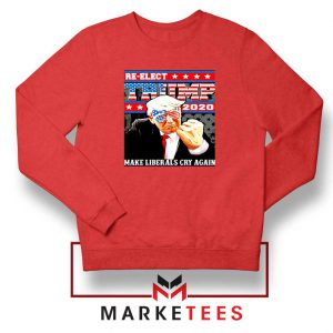 Reelect Donald Trump 2020 Red Sweater
