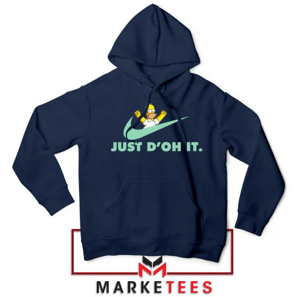 Simpson Just Do It Navy Blue Hoodie
