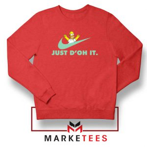 Simpson Just Do It Sweater