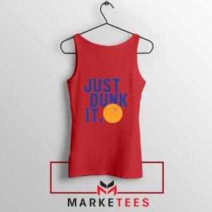 Slogan Nike Parody Red Tank Top