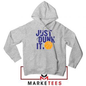 Slogan Nike Parody Sport Grey Hoodie