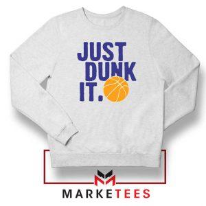 Slogan Nike Parody Sweatshirt