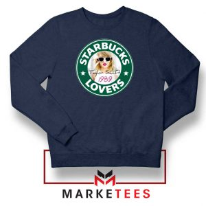 Starbuck Taylor Swift Parody Navy Sweatshirt