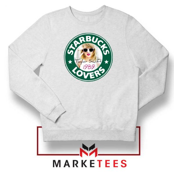 Starbuck Taylor Swift Parody White Sweatshirt