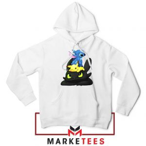 Stitch Pikachu Grinch Hoodie
