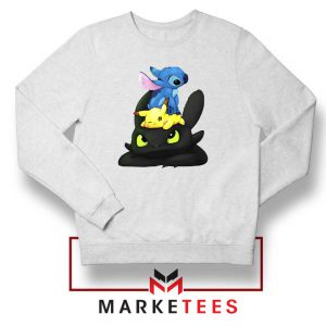 Stitch Pikachu Grinch Sweatshirt