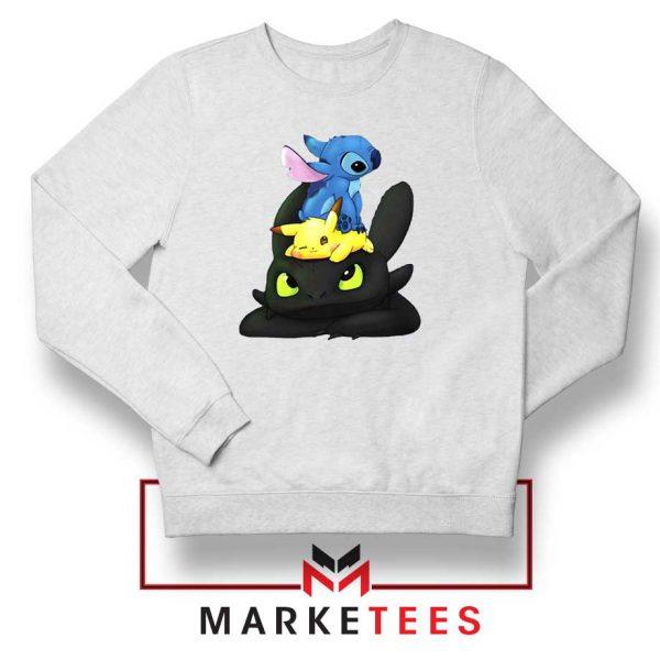 Stitch Pikachu Grinch Sweatshirt