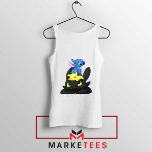 Stitch Pikachu Grinch Tank Top