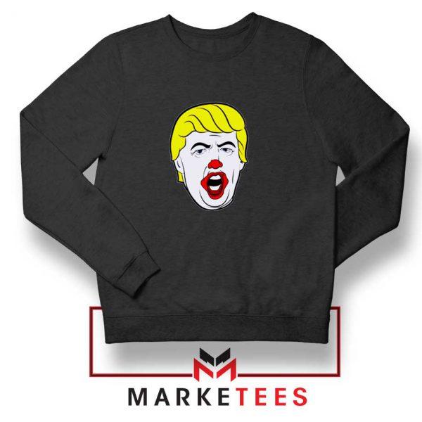 Supreme Parody Trump Black Sweatshirt