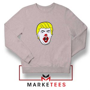 Supreme Parody Trump Grey Sweatshirt