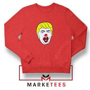 Supreme Parody Trump Red Sweatshirt