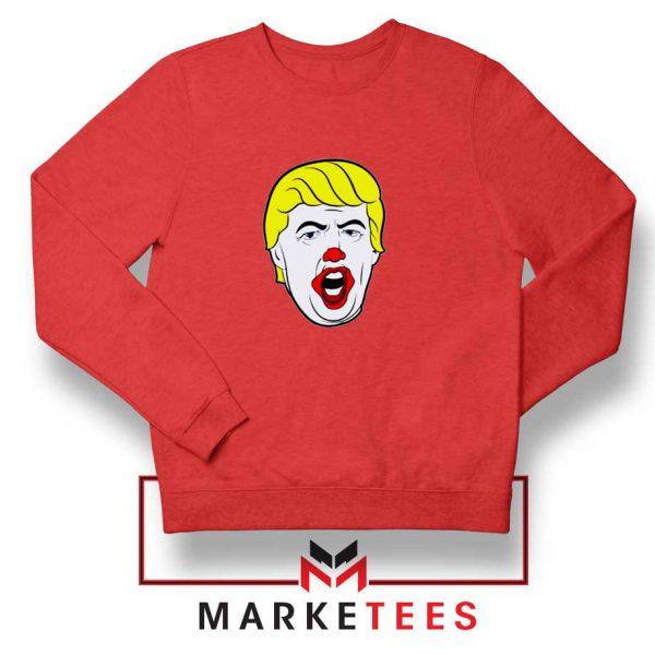 Supreme Parody Trump Red Sweatshirt