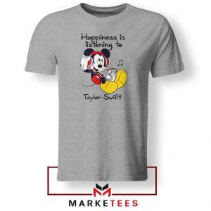Swift Mickey Mouse Grey Tee Shirt