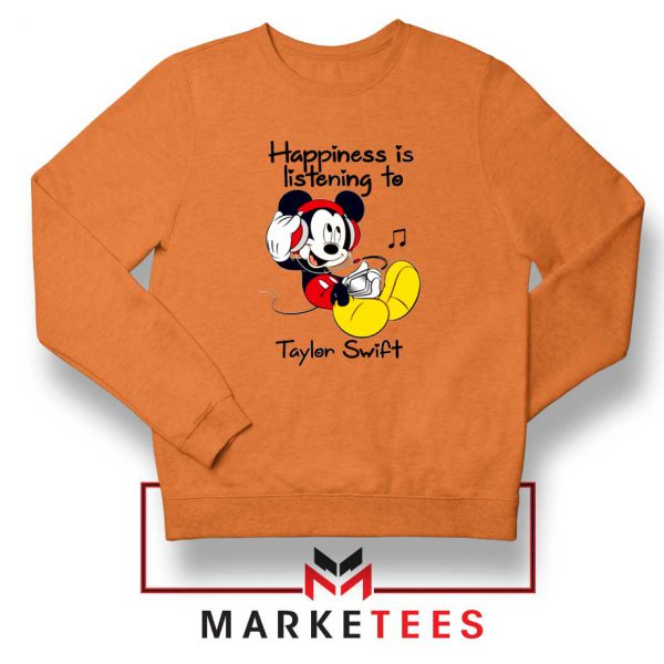 Swift Mickey Mouse Orange Sweatshirt