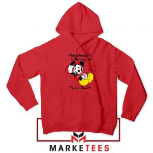 Swift Mickey Mouse Red Hoodie