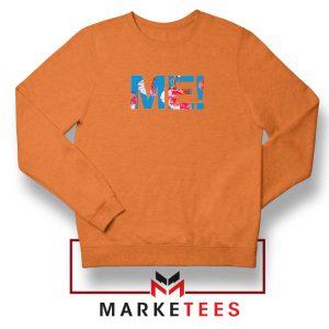 Taylor Alison Swift Orange Sweatshirt