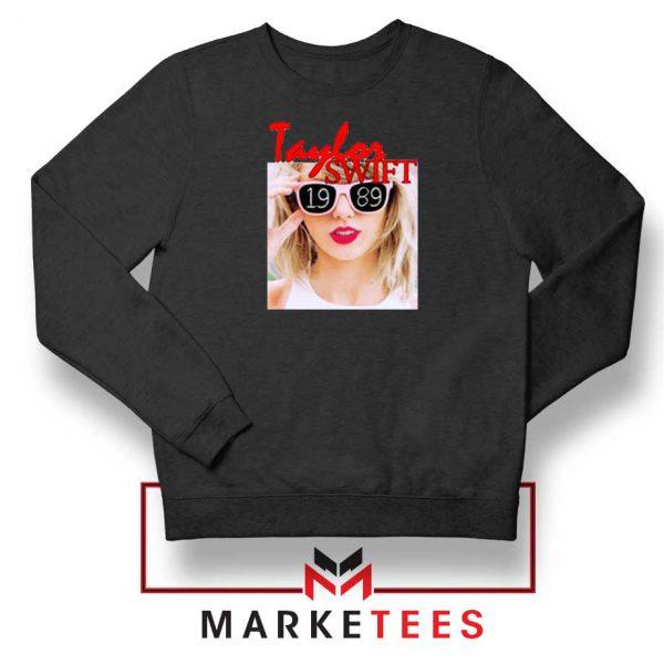 Taylor Swift 1989 Album Black Sweater