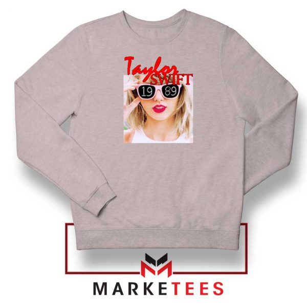 Taylor Swift 1989 Album Grey Sweater