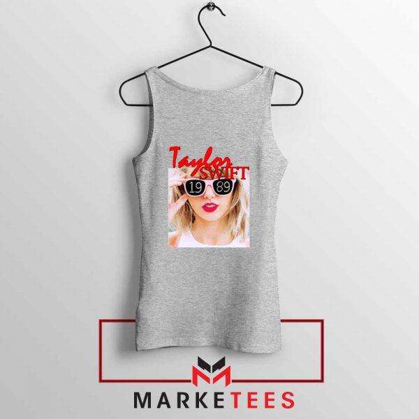 Taylor Swift 1989 Album Grey Tank Top