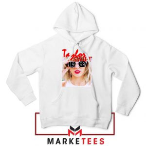 Taylor Swift 1989 Album White Hoodie