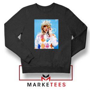 Taylor Swift Albums Signature Black Sweater
