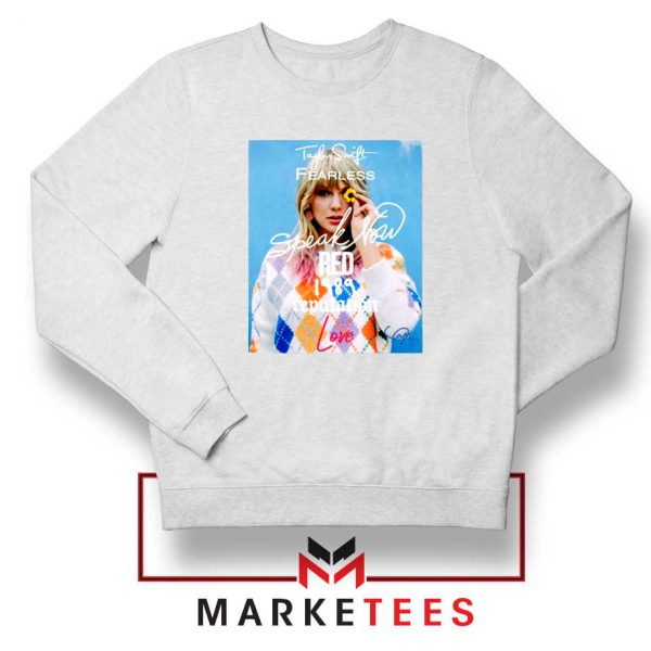 Taylor Swift Albums Signature Sweater