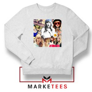 Taylor Swift Collages Sweatshirt