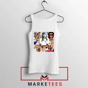 Taylor Swift Collages Tank Top