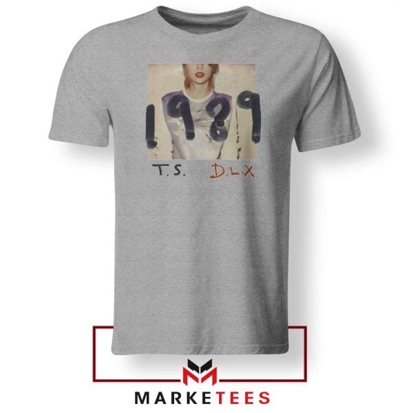 Taylor Swift Deluxe 1989 Grey Tee Shirt