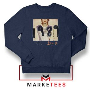 Taylor Swift Deluxe 1989 Navy Sweater