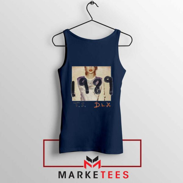 Taylor Swift Deluxe 1989 Navy Tank Top