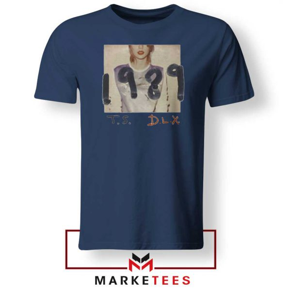 Taylor Swift Deluxe 1989 Navy Tee Shirt