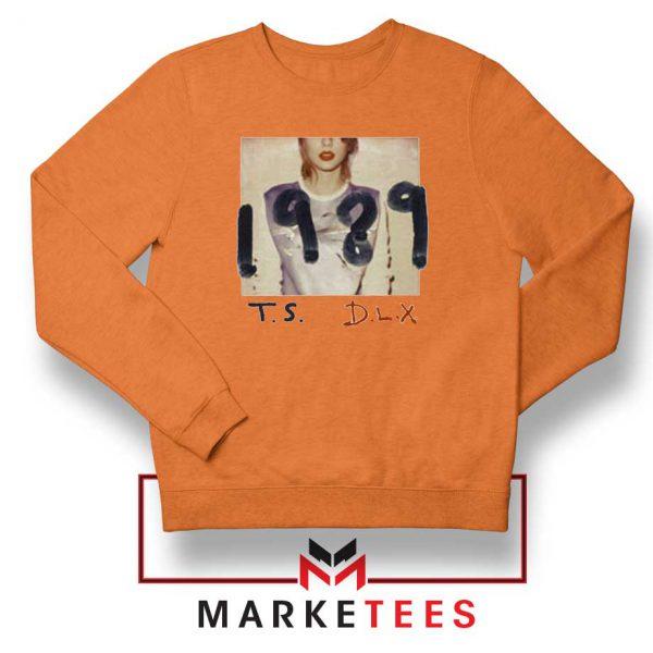 Taylor Swift Deluxe 1989 Orange Sweater