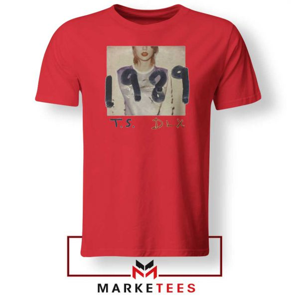 Taylor Swift Deluxe 1989 Red Tee Shirt