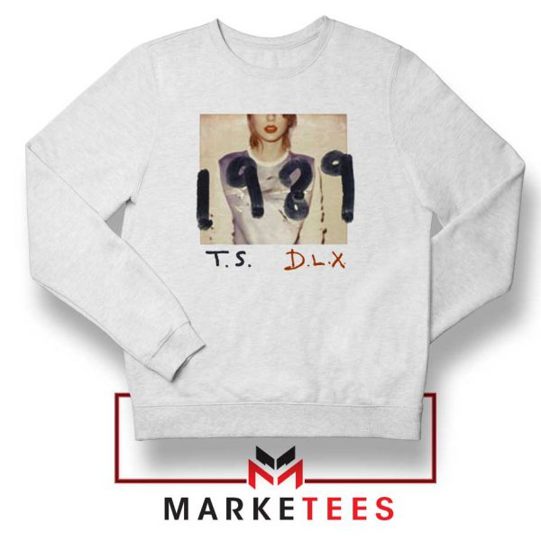 Taylor Swift Deluxe 1989 White Sweater
