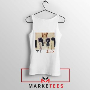 Taylor Swift Deluxe 1989 White Tank Top