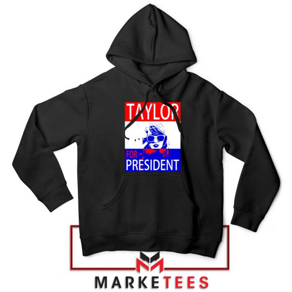 Taylor Swift For President Black Hoodie