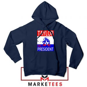 Taylor Swift For President Navy Hoodie