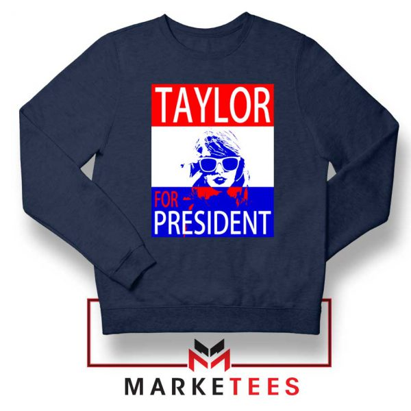 Taylor Swift For President Navy Sweater