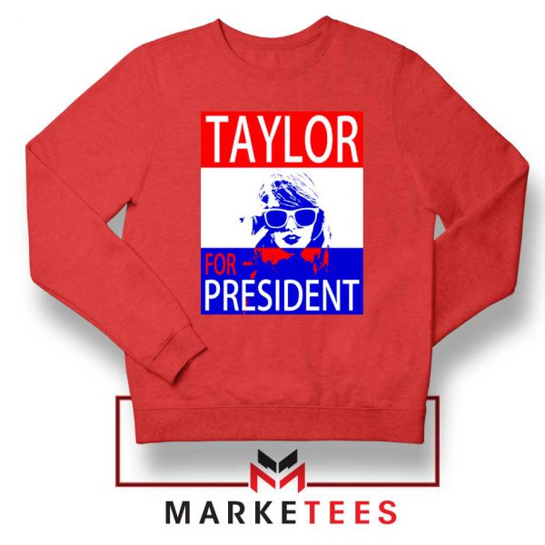Taylor Swift For President Red Sweater
