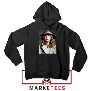 Taylor Swift Graphic Black Hoodie