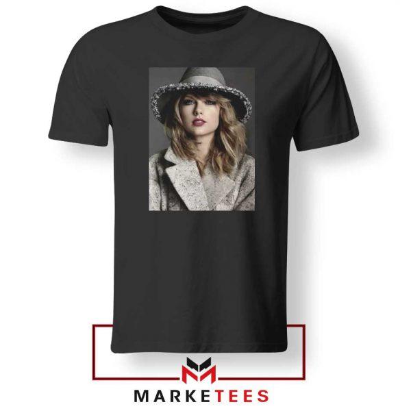 Taylor Swift Graphic Black Tee Shirt
