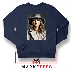 Taylor Swift Graphic Navy Sweater