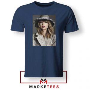 Taylor Swift Graphic Navy Tee Shirt